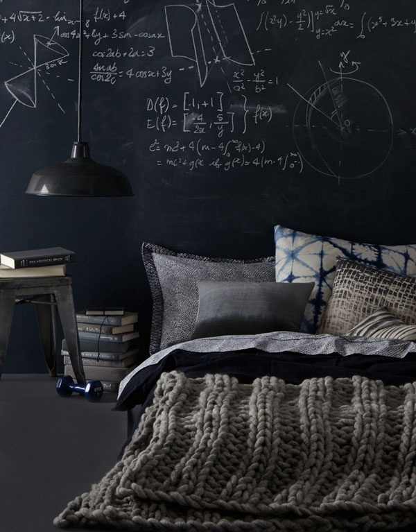 25 cool chalkboard bedroom d cor ideas to rock interior decorating