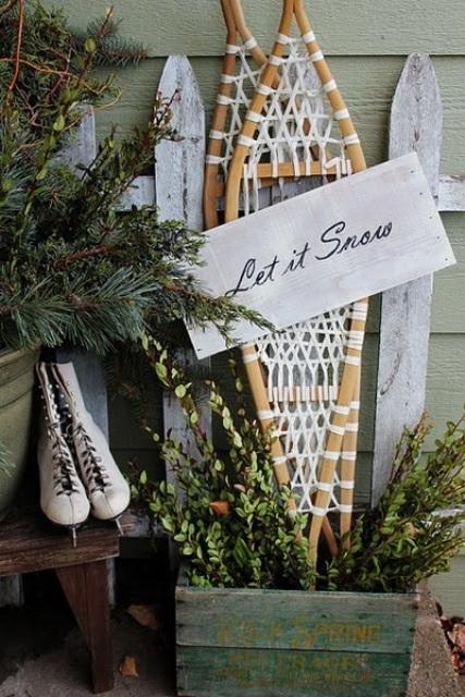 Cool Christmas Porch Decor