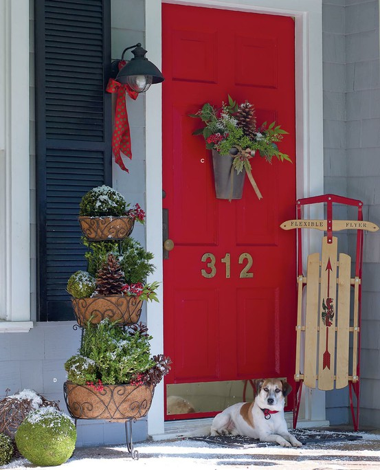 cool christmas porch decor - Christmas Porch Decor