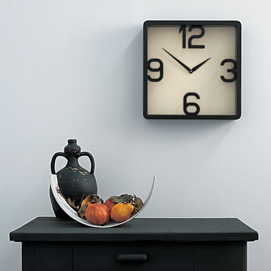 Layers Numbers Clock