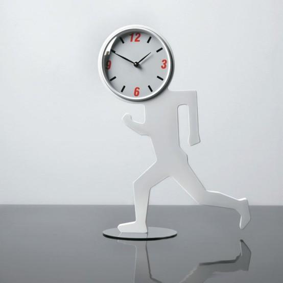 Uomino Tavolo Clock