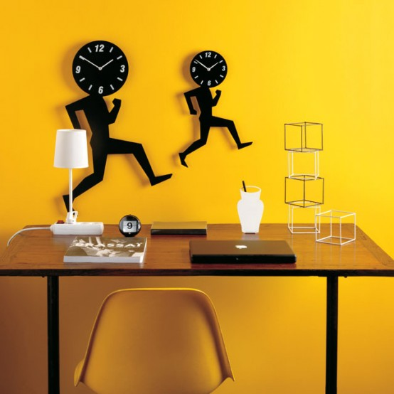 Cool Clock Uomino Wall