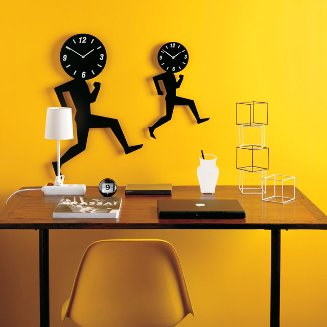Cool Clock Uomino Wall