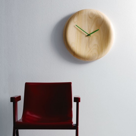 Wood Pill Clock
