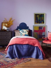 Cool Colorful Design Ideas For A Small Bedroom