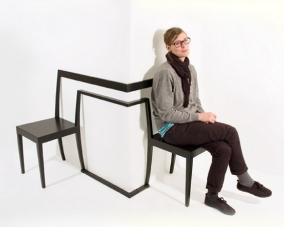 Cool Corner Chair To Arrange Uncommon Space