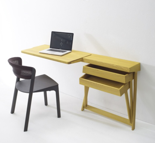 43 cool creative desk designs digsdigs for Working table design ideas