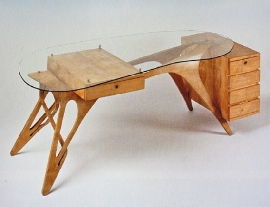 Cool Desk Designs coolest desk 43 cool creative desk designs digsdigs. cool and