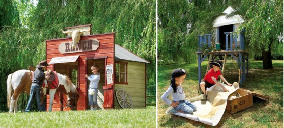 Cool Kids Outdoor Play Houses By Cerland Digsdigs