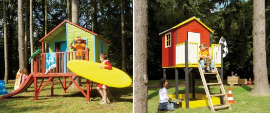 Cool Kids Outdoor Play Houses By Cerland