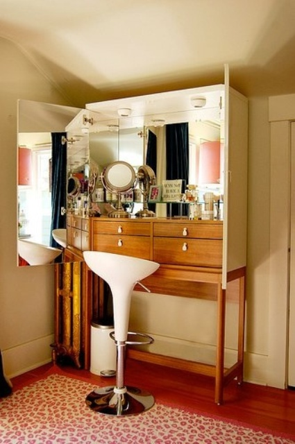 33 Cool Dressing Table Designs - DigsDigs