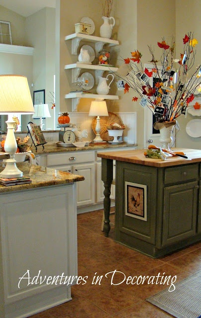 cool fall kitchen decor - Fall Kitchen Decorating Ideas