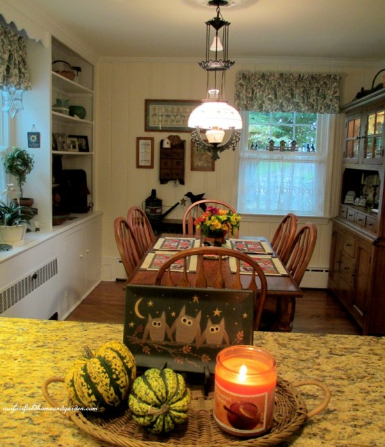 Kitchen Decor For Fall: 37 Cool Fall Kitchen Décor Ideas
