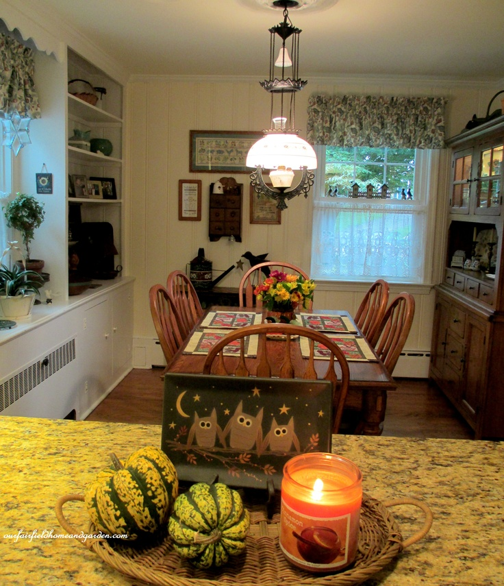 Eco Home Design Ideas: 37 Cool Fall Kitchen Décor Ideas