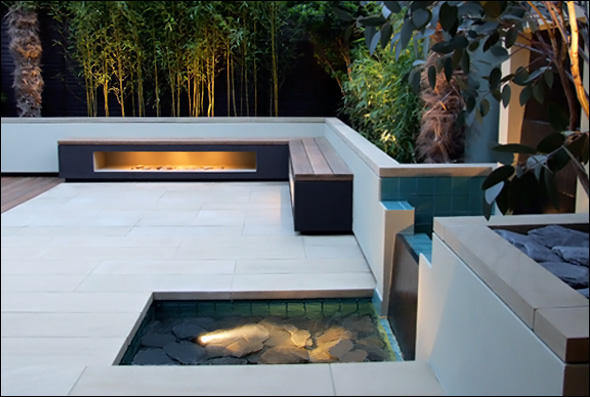 Cool Gardern And Roof Terrace Design