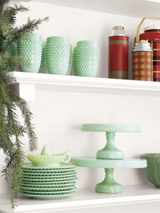 Cool Green Christmas Decor