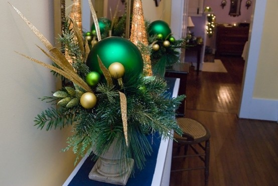 30 cool green christmas decorations