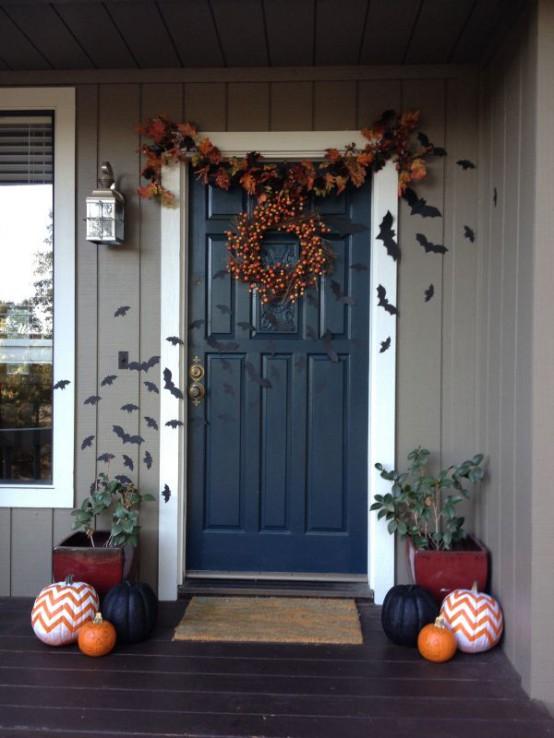 Front Door Ideas 40 cool halloween front door decor ideas - digsdigs