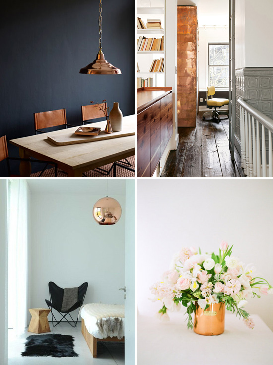 24 hot home d cor ideas with copper digsdigs