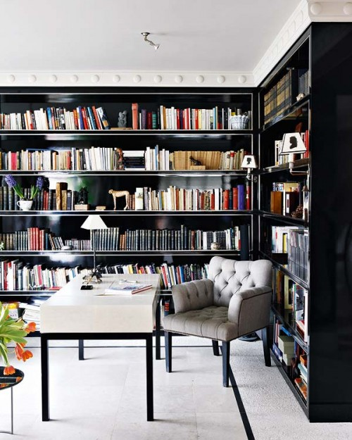 Home Design Ideas Book: 10 Outstanding Home Library Design Ideas