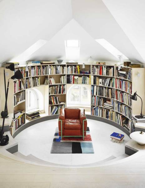 10 outstanding home library design ideas digsdigs for Home library ideas design