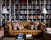 Cool Home Library Design