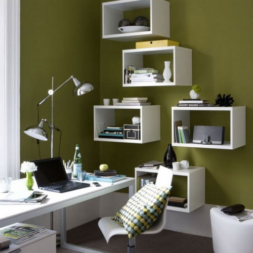 43 cool and thoughtful home office storage ideas digsdigs - Coolest home office designs ...
