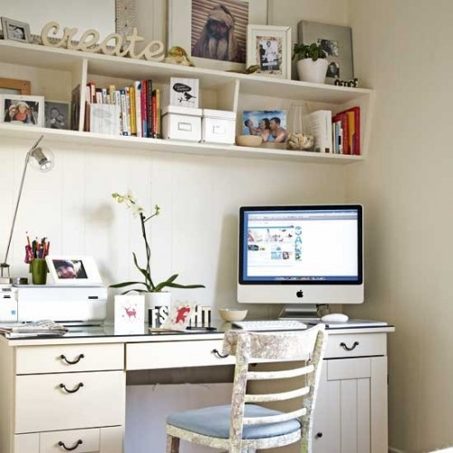 Home Office Space Ideas: 43 Cool And Thoughtful Home Office Storage Ideas