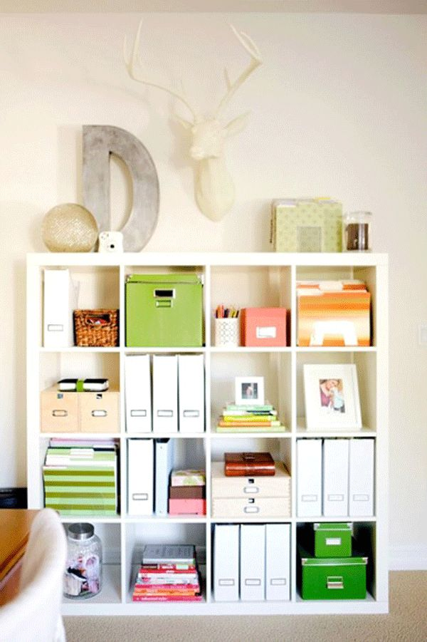 ikea office organization 43 cool and thoughtful home office storage ideas digsdigs 17721