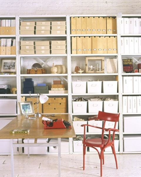 43 Cool And Thoughtful Home fice Storage Ideas DigsDigs