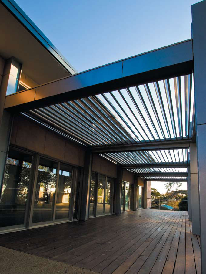 Cool Idea for Patio - Opening Roofs by Louvretec | DigsDigs on Open Patio Designs id=64962