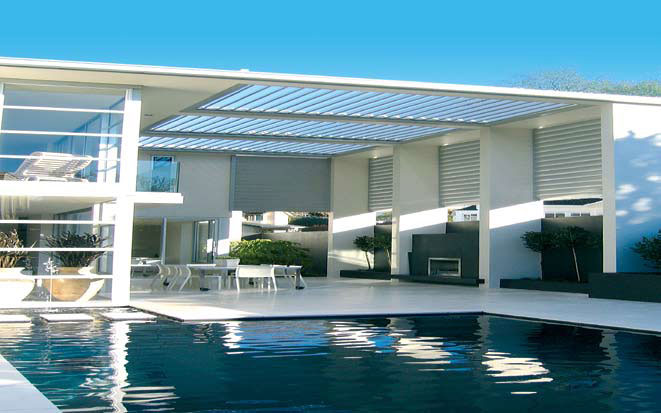 Cool Idea for Patio – Opening Roofs by Louvretec