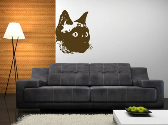 Cool Ideas For Cat Themed Room Design