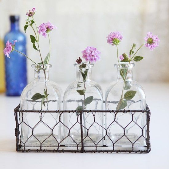 Trend Shake 40 Indigo Home Décor Ideas: 5 Cool Ideas And 25 Examples Of Using Vintage Bottles In
