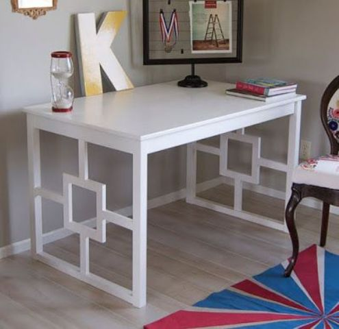 Change the legs to make the table a really unique furniture piece.