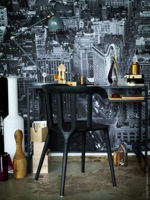 27 cool ikea vittsj table ideas to rock in different spaces digsdigs. Black Bedroom Furniture Sets. Home Design Ideas