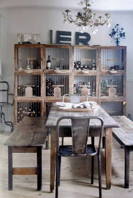 Cool Industrial Dining Rooms And Zones