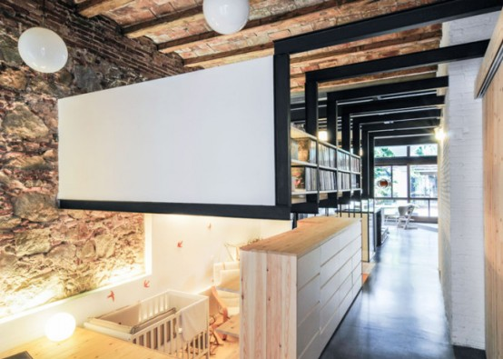 Cool Industrial Renovation Of A Barcelona Apartment