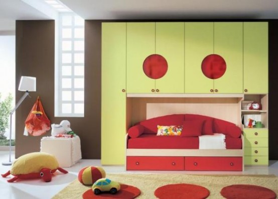 cool kids rooms 7 554x396 Cool Rooms