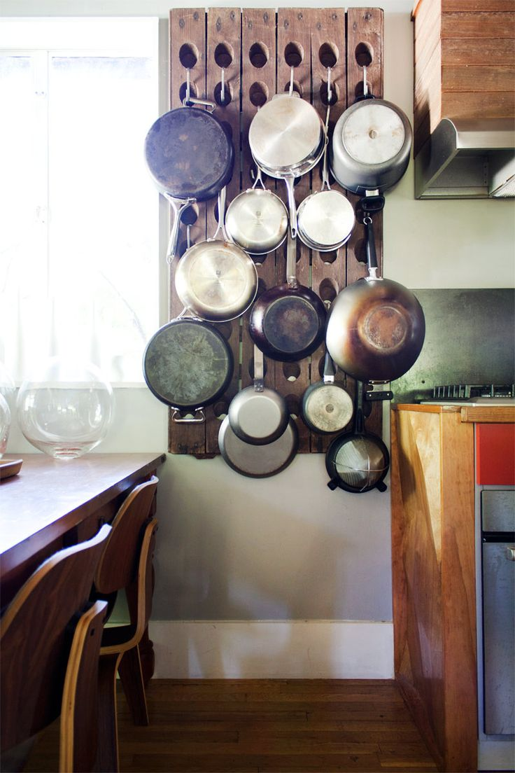58 Cool Kitchen Pots And Lids Storage Ideas