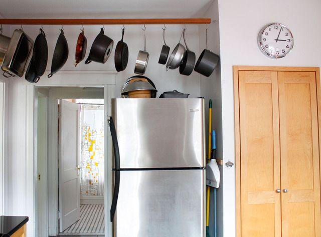Pot lid storage ideas car interior design - Como organizar mi casa ...