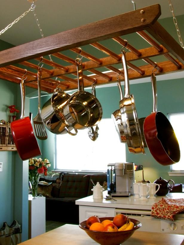 Cool Kitchen Pots And Lids Storage Ideas