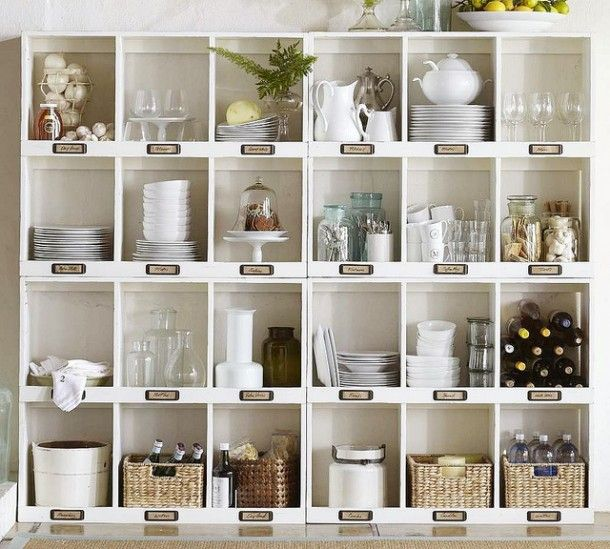 56 useful kitchen storage ideas digsdigs for Kitchen organization ideas