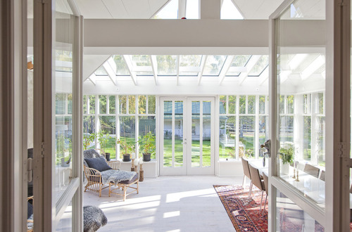 Cool large sunroom