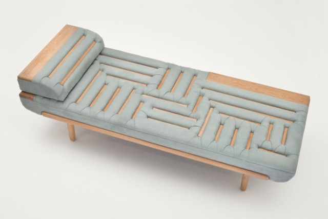 Picture Of cool lounge made with a traditional upholstery technique  2