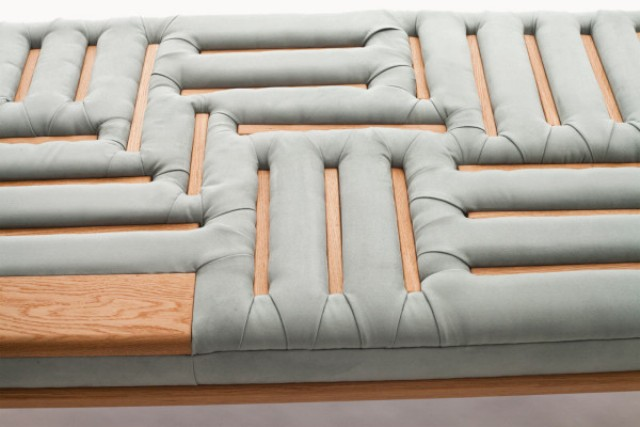 Cool Lounge Made With A Traditional Upholstery Technique