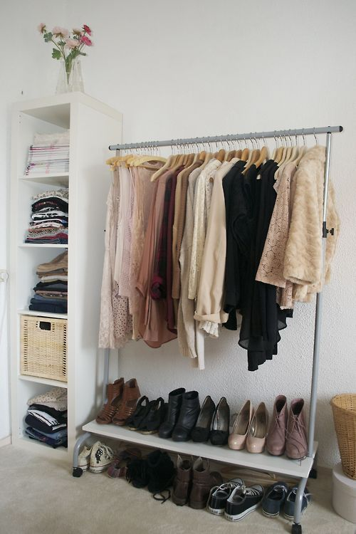 Cool Makeshift Closet Ideas For Any Home & 29 Cool Makeshift Closet Ideas For Any Home - DigsDigs