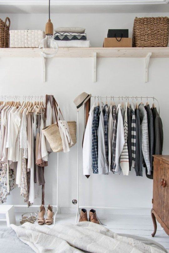 Cool Makeshift Closet Ideas For Any Home