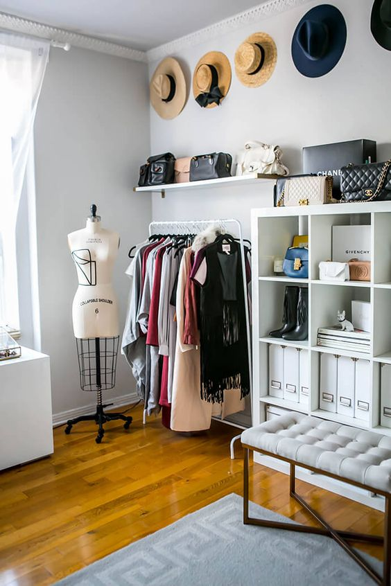 Exceptionnel Cool Makeshift Closet Ideas For Any Home