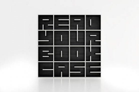 Cool Minimalist Bookshelf To Read It